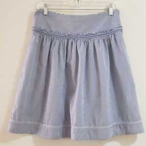 American Eagle Skirt, Blue/ White, Sz 4